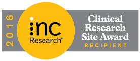 emovis won the INC Research Site Award